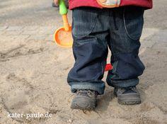 Outdoorhose Waldemar von mialuna aus alter Jeans