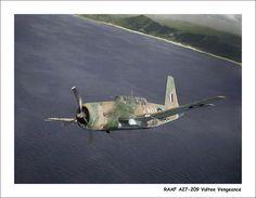 Royal Australian Air Force Vultee Vengeance
