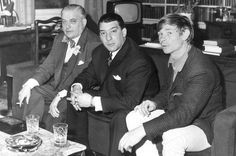 1964 Lord Boothby, Ronnie Kray and Leslie Holt