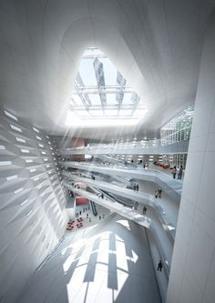 International Competition Winner of Government Building in Sejong City / Tomoon Architects & Engineers