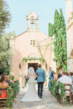 Photography : Anna Roussos - Photographer Read More on SMP: http://www.stylemepretty.com/little-black-book-blog/2016/02/01/rustic-elegant-crete-destination-wedding-2/