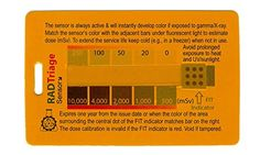 RADTriage FIT 20 Personal Radiation Detector for pocket or wallet