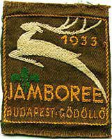 4th World Scout Jamboree – 1933 Hungary / Hungria 25,792 Scouts