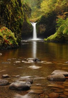 Punch Bowl Falls Oregon | columbia river gorge # oregon # us
