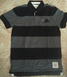 3d41a78d556 Men's Regular Striped 100% Cotton Short Sleeve Sleeve Dress Shirts | eBay