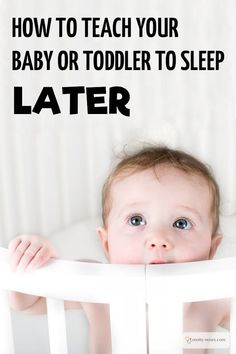 Kids Waking Too Early. How to Teach Your Baby or Toddler to Sleep Later. Should you drop their nap or just teach them to stay in bed? written by a…