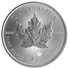 Trusted expert on 1 oz Silver Maple Leafs. Buy 2014 Silver Maple Leaf 1 oz Uncirculated online with Golden Eagle Coins. Call Trusted coin dealer since Gold Bullion Bars, Bullion Coins, Silver Bullion, Silver Coins For Sale, Gold And Silver Coins, Silver Bars, Canadian Maple Leaf, Canadian Coins, Silver Maple Leaf