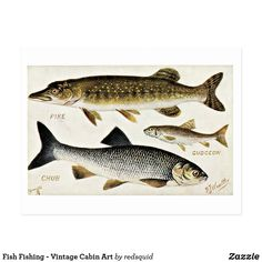 Custom Posters, Vintage Posters, Great Works Of Art, Fishing Photography, Vintage Cabin, Fishing Gifts, Ice Fishing, Rustic Art, Vintage Fishing
