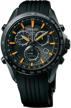 Seiko Astron Watch GPS Solar Chronograph - tag watches for sale, watch bands, fashion watches for men *ad