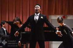 Korean baritone Claudio Jung delivered an amazing operama performance and lecture at St. Mary's University.