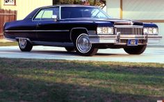 1973 Cadillac Coupe DeVille...had this car in turquoise. ..got 6 mpg, rode like a dream