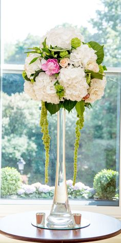 High Elegance - A tall centrepiece with a mixture of blooms to match any colour palette Luxury Wedding Venues, Hotel Wedding, Shelbourne Hotel, Wedding Bouquets, Wedding Flowers, Amaranthus, Wedding Planning, Wedding Ideas, Wedding Decorations