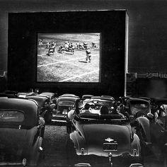 1941 - drive-in show Alezandria, Virginia