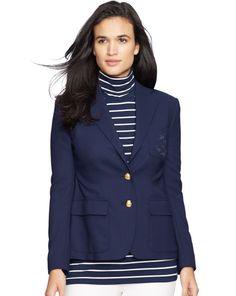 Wool Two-Button Jacket - Lauren Sale - RalphLauren.com