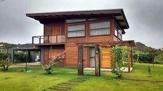 46 projetos espetaculares de lindas casas de madeira
