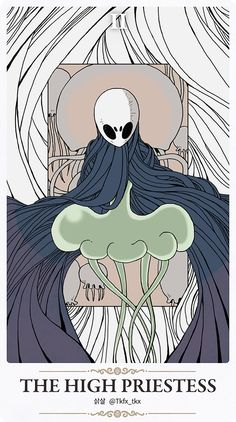 This fanart makes the Hollow Knight look like a Dark Souls