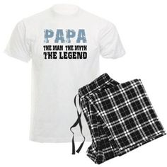 Papa (Blue-Black) Pajamas