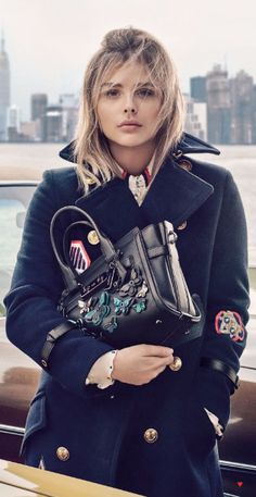 Browse the latest designer bags, apparel, outerwear, shoes and accessories for women and men at COACH. Teen Fashion, Love Fashion, Fashion Outfits, Fashion Tips, Fashion Design, Fashion Trends, Chloe Grace Moretz, Fall Outfits, Casual Outfits