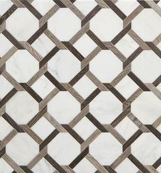 Walker Zanger Sterling Row Collection tile -a combination of porcelain tile and marble in tones of gray, white and black, Floor Patterns, Tile Patterns, Textures Patterns, Floor Design, Tile Design, Pattern Design, Marble Floor, Tile Floor, Marble Price