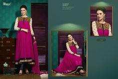 Semi-Stitched Georgette Suit with Embroidery #fashionblogger #indianfashion #desidiva #bridesmaid #bridestobe