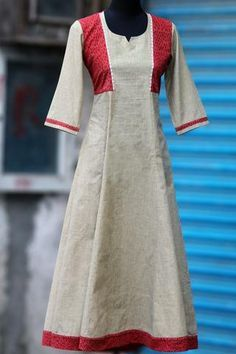 new additions! – Page 2 – maati crafts Kurti Neck Designs, Kurti Designs Party Wear, Dress Neck Designs, Salwar Designs, Blouse Designs, Kurta Patterns, Dress Patterns, Indian Dresses, Indian Outfits