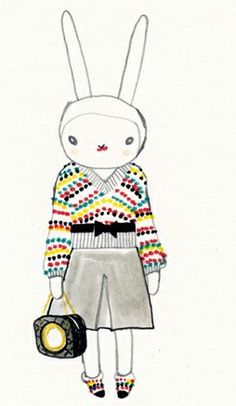 Fifi Lapin wears Chanel