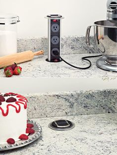 Pop-Up Kitchen Power Outlet