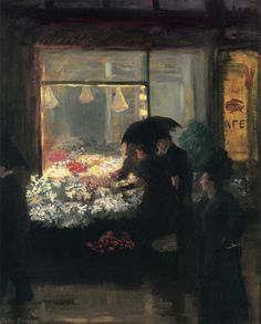 """Easter Evening"" by John Sloan ."