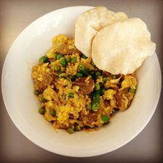 Delicious and healthy curry - 12wbt Lamb Biriyani - so good!