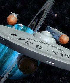 Star Trek (TOS) - USS Enterprise NCC-1701