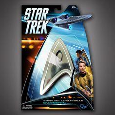 Star Trek Magnetic Insignia Badge — Engineering – Quantum Mechanix