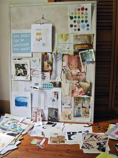 inspiration board now by snappingtwig, via Flickr
