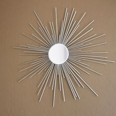 DIY Dollar Store Starburst Mirror