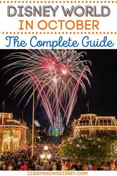 Planning a trip to Disney World in October? In this guide for October 2021 at Walt Disney World, Ziggy Knows Disney covers everything you need to know for planning a Fall trip to Disney World. This guide is essential when it comes to planning your Disney Vacation! Disney World Vacation Planning, Disney World Trip, Disney Vacations, Trip Planning, Walt Disney World Orlando, Disney World Secrets, Disney World Tips And Tricks, Columbus Day Weekend, Disney Website