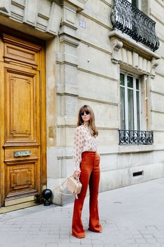 Max & Co. Burnt Orange Pants | Margo & Me