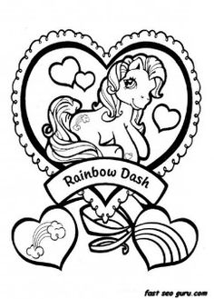 549 Best My Little Pony Coloring Pages Printables Images In 2019