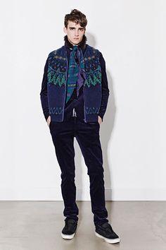 Sacai Fall 2014 Menswear Collection Slideshow on Style.com
