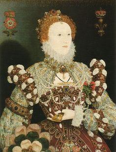 Elizabeth I - Nicholas Hilliard