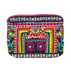 This Nila Anthony Bright Beaded Clutch is perfect for a tropical vacation! http://www.littleblackbag.com/product/details/22329/multi-nila-anthony-bright-beaded-clutch