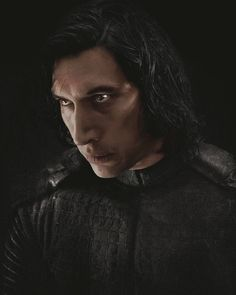 The person Kylo's pretending to be on the outside is not who he is -Adam Driver #starwars