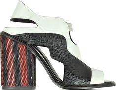 Proenza Schouler Color Block High Heeled Sandals
