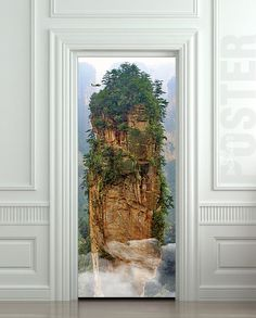 Door STICKER Avatar cinema film mountain rock mural decole film self-adhesive poster cm) / sold by Pulaton. Shop more products from Pulaton on Storenvy, the home of independent small businesses all over the world. Fridge Stickers, Door Stickers, Wall Stickers Murals, Avatar, Peel And Stick Vinyl, Build A Closet, Door Murals, Pandora, Front Door Design