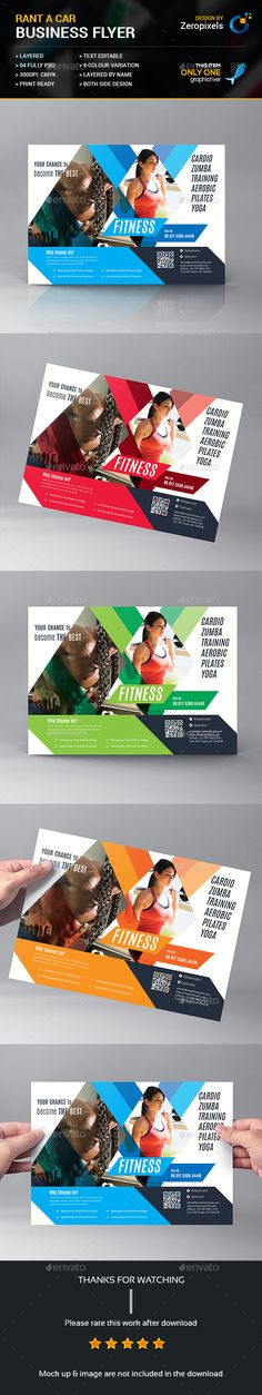 Gym / Fitness Business Flyer