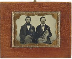 (c.1850s-1860s) Musicians (Violin Players)