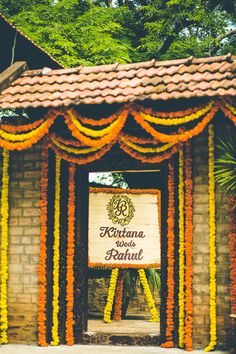wedding motif, monogram motif, couple name board, destination wedding decor, name board, genda phool decor
