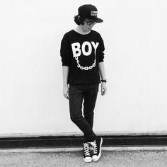 Le boy!