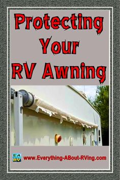 Here is a simple cost effective way to protect your RV's Awnings and Slide…