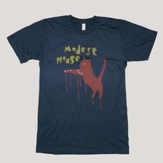 Modest Mouse T-Shirt, Jumping Cat – Glacial Pace Recordings