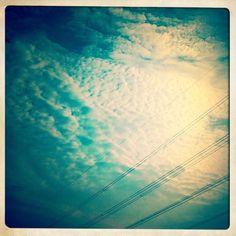 Beautiful sky on Day 8