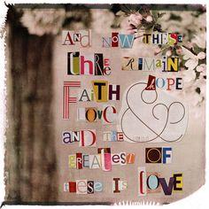 Faith Hope Love Photo Blend - Simply Digital Creative Team Gallery